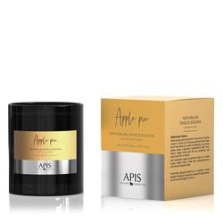 APIS Naturalna świeca sojowa o zapachu szarlotki