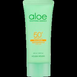 HOLIKA HOLIKA Aloe Soothing Essence Sun Gel SPF 50+ wodoodporny żel przeciwsłoneczny 100ml