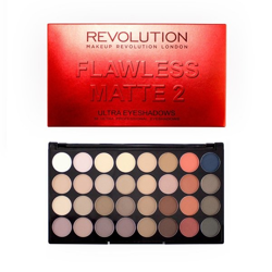 Makeup Revolution Flawless Matte 2 Ultra Eyeshadow Palette