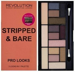 Makeup Revolution Pro Looks Stripped & Bare paleta 15