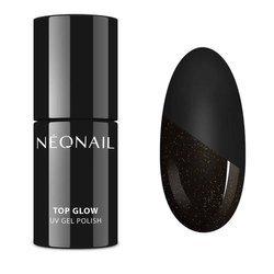 NEONAIL 7240-7 Lakier Hybrydowy 7,2 ml Top Glow Gold