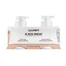 SARYNA KEY Naked Break zestaw (szampon do ciała 500ml + maska do ciała 500ml)