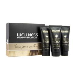 WELLNESS PREMIUM PRODUCTS mini zestaw WELLPLEX (szampon 50ml, odżywka 50ml, maska 50ml)